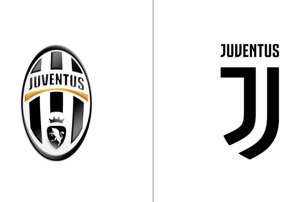 """<p><em>Foto: Logotipo Juventus antes y después.</em> <a href=""""http://interbrand.com/"""" target=""""_blank""""><strong>Interbrand</strong> </a>ha desarrollado un programa de branding exhaustivo para apoyar el plan de crecimiento internacional del club"""