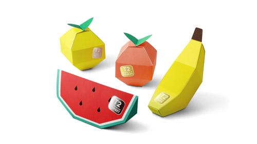 <p>El <strong>packaging</strong> de <strong>T2 Mini Fruit Tea</strong>