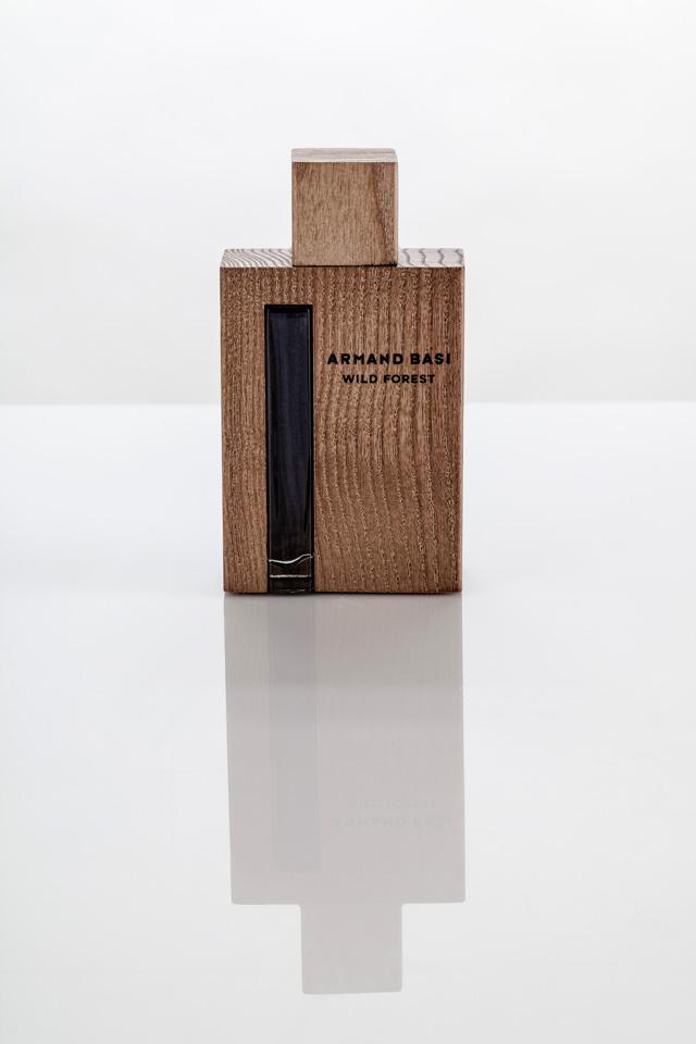 <p>El packaging de Armand Basi Wild Forest