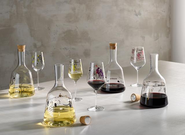 <p>Nueva colección de decantadores de vino Red & White<strong> Ritzenhoff.</strong> Elegantes y originales