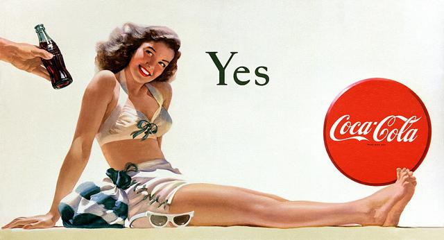 <p>La campaña mundial de 2015 de Coca-Cola gira en torno al famoso diseño de su botella y está protagonizada por personajes famosos tan emblemáticos como Elvis Presley