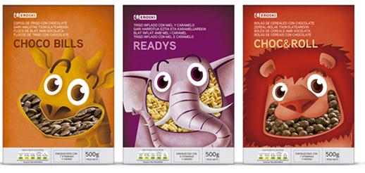 <p>Supperstudio ha conseguido dos Pentawards de plata que reconocen el diseño de packaging que la agencia ha realizado para Eroski. <br />Los dos Pentawards han premiado el diseño de la gama de cereales infantiles Eroski