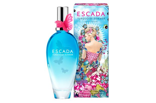 <p>Escada lanzó su primera fragancia de verano en Edición Limitada en 1993. Escada Turquoise Summer