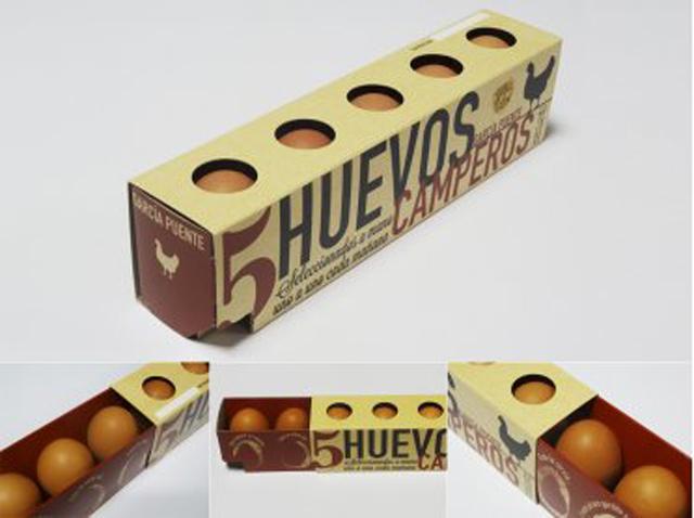 <p>Este innovador pack de cinco huevos camperos