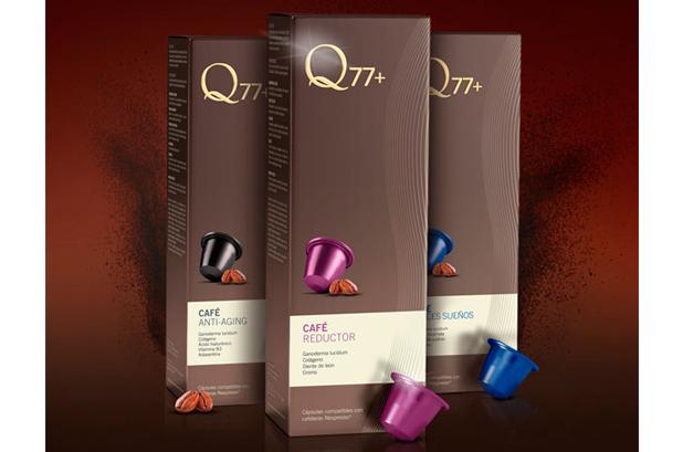 <p>La marca <strong>Q77+</strong> encargó a <strong>Garrofé</strong> el desarrollo de una nueva línea de café compuesta por 3 productos: Café Dulces Sueños