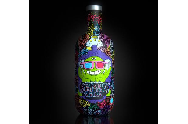 <p><strong>Rémy Guizerix</strong> quería crear un nuevo vodka directamente de la mente del artista. Además de centrarse en ingredientes de alta calidad y procesos elaborados