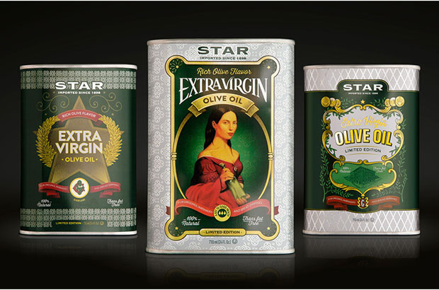<p>La marca de <strong>aceite</strong> de oliva <strong>Star de Borges</strong> Branded Foods ha presentado en EEUU una colección de tres latas de <strong>edición limitada</strong>