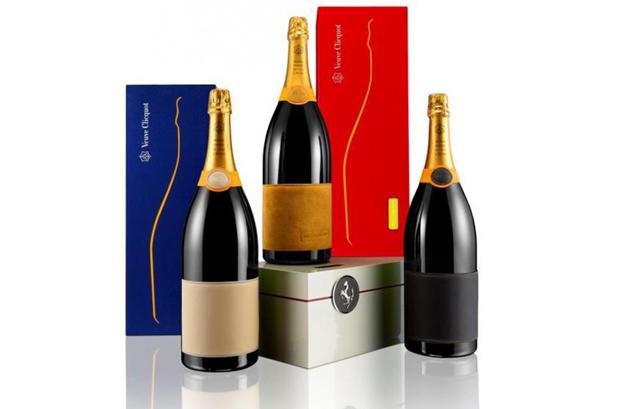 <p>La Maison Veuve Clicquot y Ferrari han creado Veuve Clicquot Maranello Edition