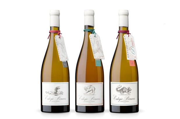 <p>El diseño de la colección de vinos Albariño <strong>Grandes Vinos Desiguales de Eulogio Pomares</strong>