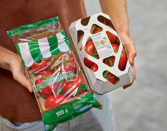 Mondi y BIOhof reemplazan la envoltura de plástico