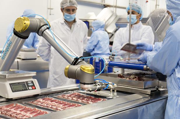 COVAP aumenta su productividad en productos cárnicos gracias a la robótica colaborativa