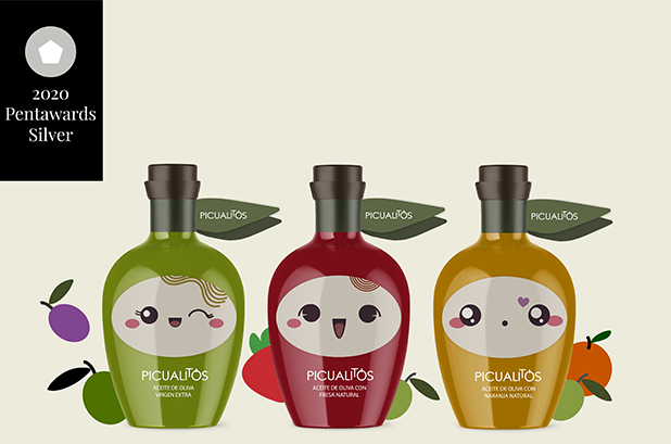 Cabello x Mure consigue un Pentawards por el packaging de Picualia