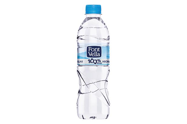 Font Vella lanza su primera botella 100 % hecha de otras botellas