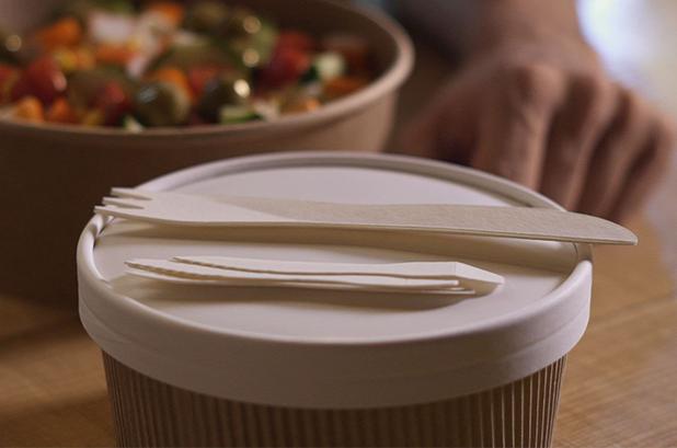 García de Pou lanza la cubertería de papel de un solo uso 'Paper Cutlery'