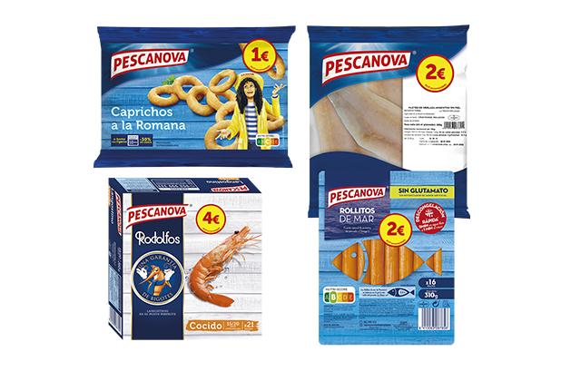 Pescanova lanza una gama de productos asequibles con nuevos packs