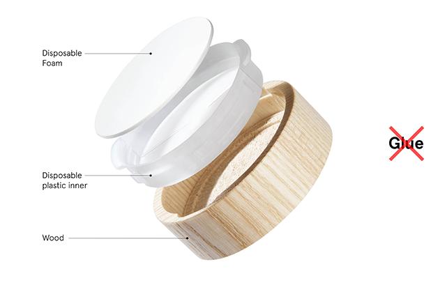 <p><strong>Pujolasos</strong> lanza al mercado el primer<strong> tapón de madera con interior plástico desechable para reciclar</strong>