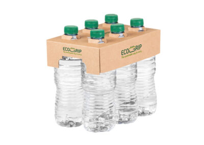 Hinojosa lanza Ecogrip, la alternativa sostenible en cartón para los packs de botellas