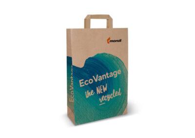 Mondi pone en marcha una máquina de papel kraft 100 % reciclable para bolsas de la compra