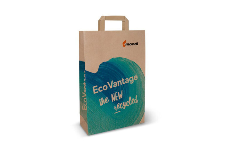 Mondi launches 100% recyclable kraft paper machine for shopping bags