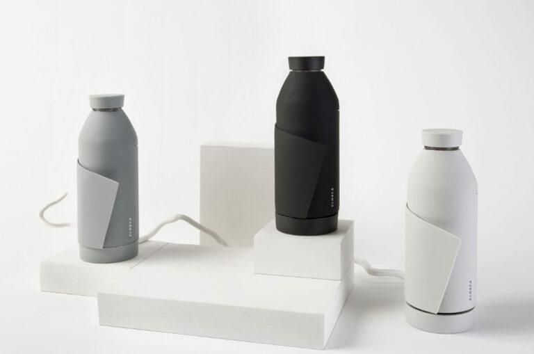 Closca, eine wiederverwendbare Flasche, Finalist für den iF 2021 Design Award