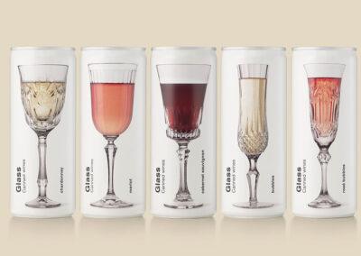 Vinhos enlatados de vidro, o vinho enlatado de acordo com Puigdemont Roca