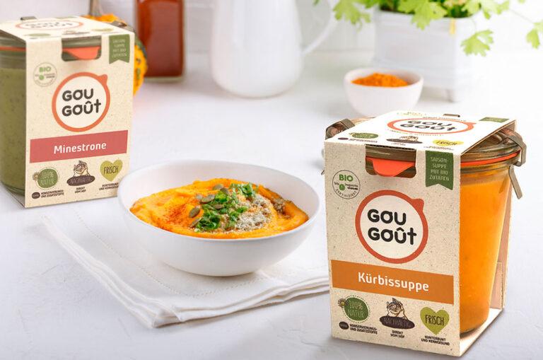 Carol García del Busto entwickelt das Branding und die Verpackung für GouGoût