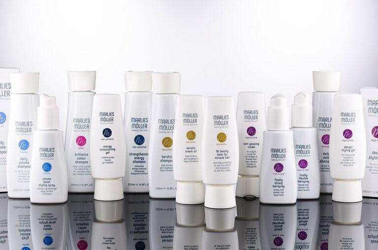Marlies Möller relanza su línea de cuidado del cabello con un nuevo packaging creado por Corpack