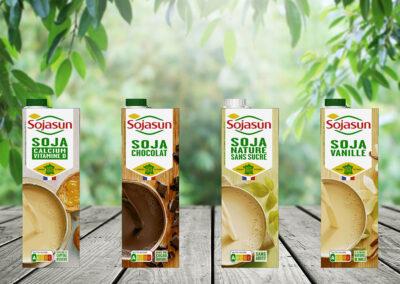 Triballat Noyal wählt SIGs Kartonpackungen für Sojasun und Sojade