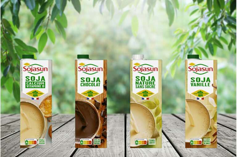 Triballat Noyal escolhe embalagens cartonadas da SIG para Sojasun e Sojade