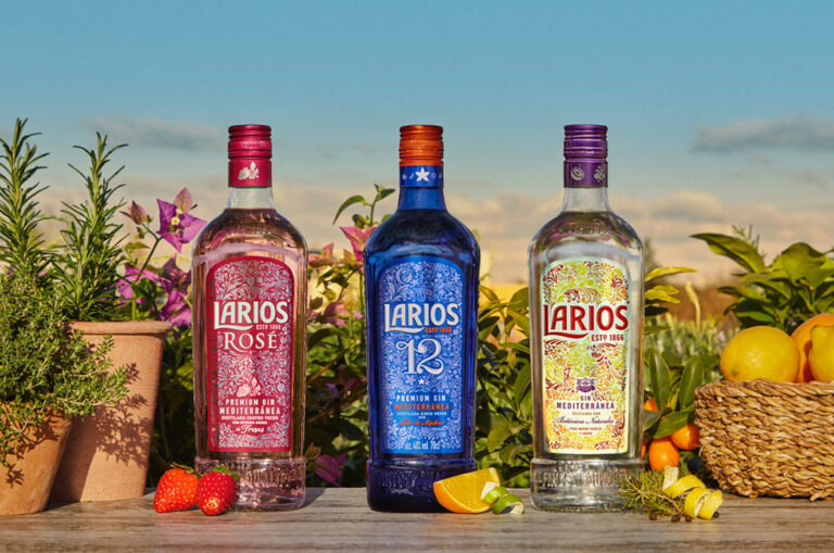 Nova embalagem de Larios Dry Gin