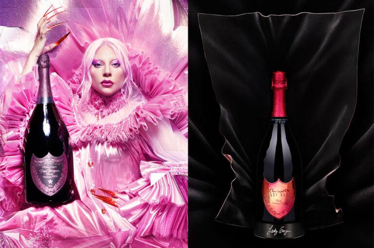 Lady Gaga und Dom Pérignon