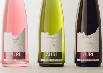 Zuri, uma homenagem ao vinho Txakoli assinado por Gauzak