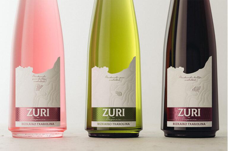 Zuri, un homenaje al vino Txakoli firmado por Gauzak