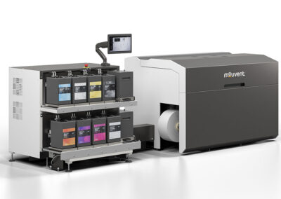 Bobst mejora el diseño de la prensa de etiquetas digital Mouvent LB701-UV
