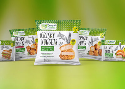 Nace NeWind Foods, marca de productos de proteína vegetal 'made in Spain'