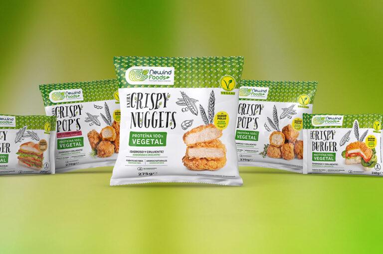 Nace NeWind Foods, marca de productos de proteína vegetal 'made in Spain'