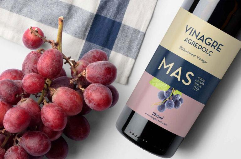 Packaging de vinagre para Mas Gourmets