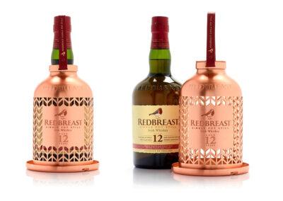 Envase de lujo para el whisky Redbreast