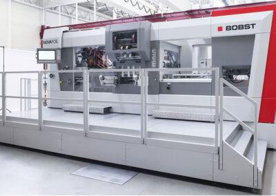 Bobst lanza la máquina de estampación en caliente Novafoil 106