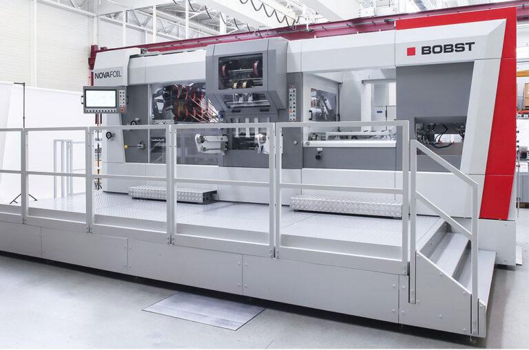 Bobst lança máquina de estampagem a quente Novafoil 106