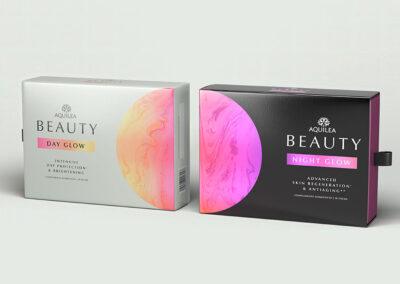 Aquilea vertraut Little Buddha für das Design von Beauty Glow