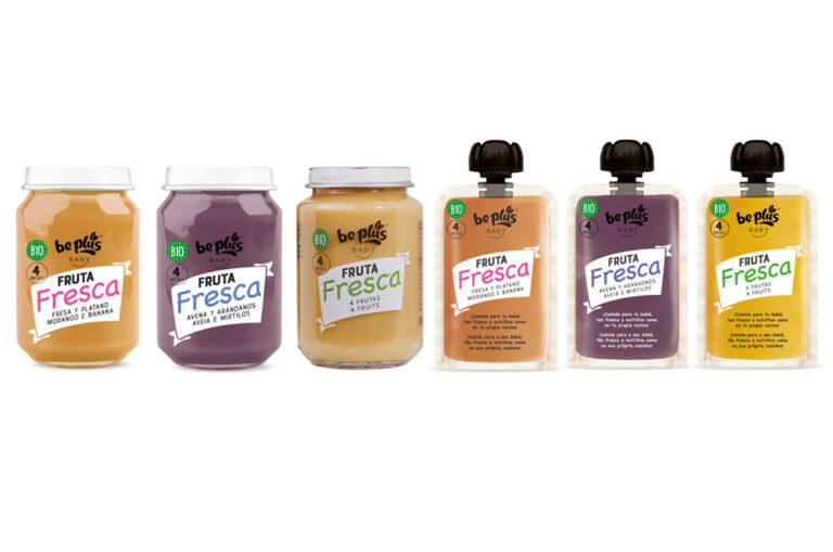 新系列 Be Plus 婴儿食品配新鲜水果