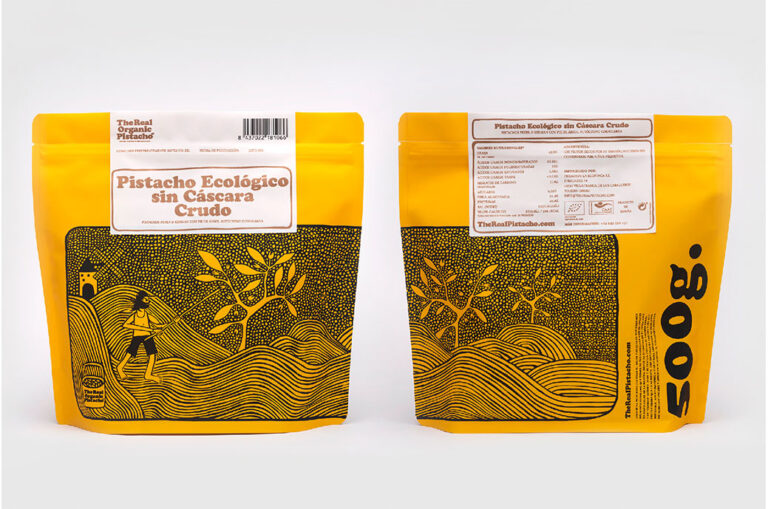 Un packaging para pistachos, Premio Laus Oro