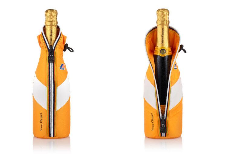 Casaco de gelo Veuve Clicquot x K-WAY®