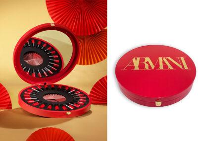 Un packaging especial para Rouge d'Armani Matte