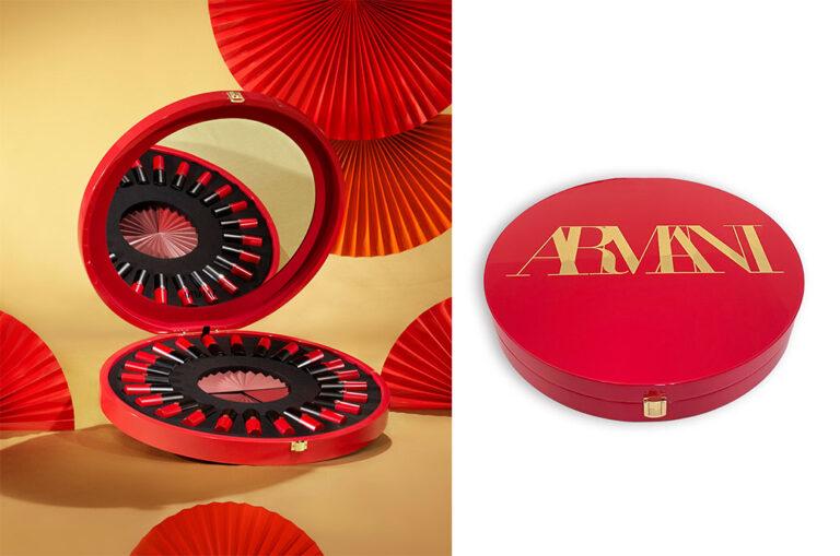 Un packaging spécial pour Rouge d'Armani Matte