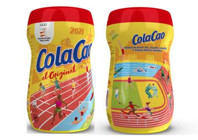 ColaCao celebra los 50 años de su apoyo al deporte olímpico con una edición limitada