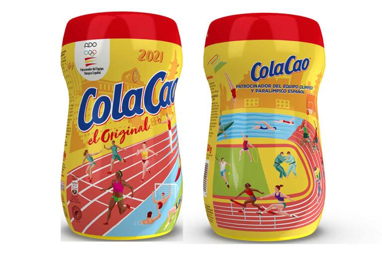 ColaCao fête les 50 ans de son soutien au sport olympique avec une édition limitée