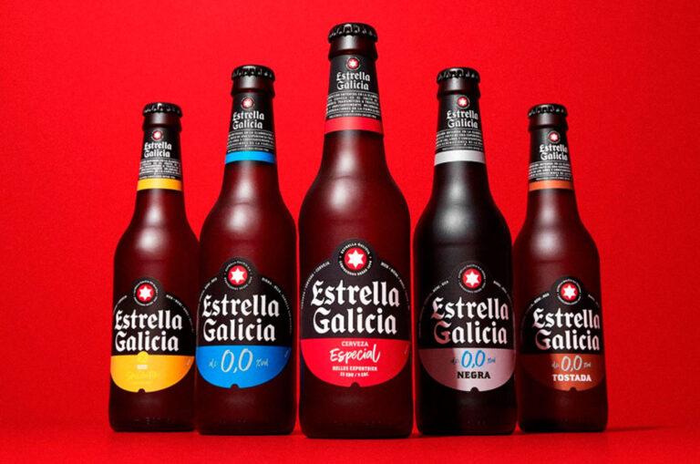 Nouvelle image plus durable d'Estrella Galicia