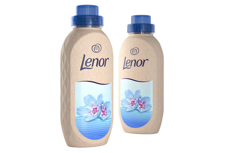 Procter & Gamble anuncia el primer proyecto piloto de botella hecha de papel para Lenor